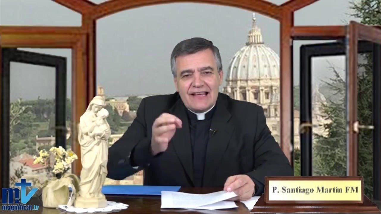 El padre Santiago Martín