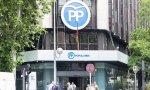 Sede del PP, en la madrileña calle de Génova
