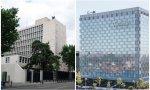 Embajada de EE.UU. en Madrid y Sede de Telefónica