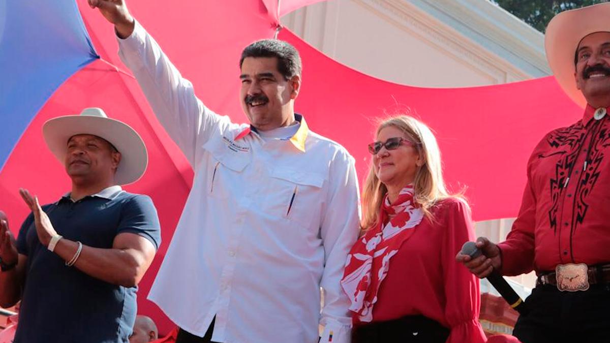 El dictador Nicolás Maduro