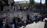 Refugiados en la isla de Lesbos