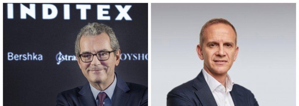 Pablo Isla, presidente ejecutivo de Inditex, y Carlos Crespo, nuevo CEO