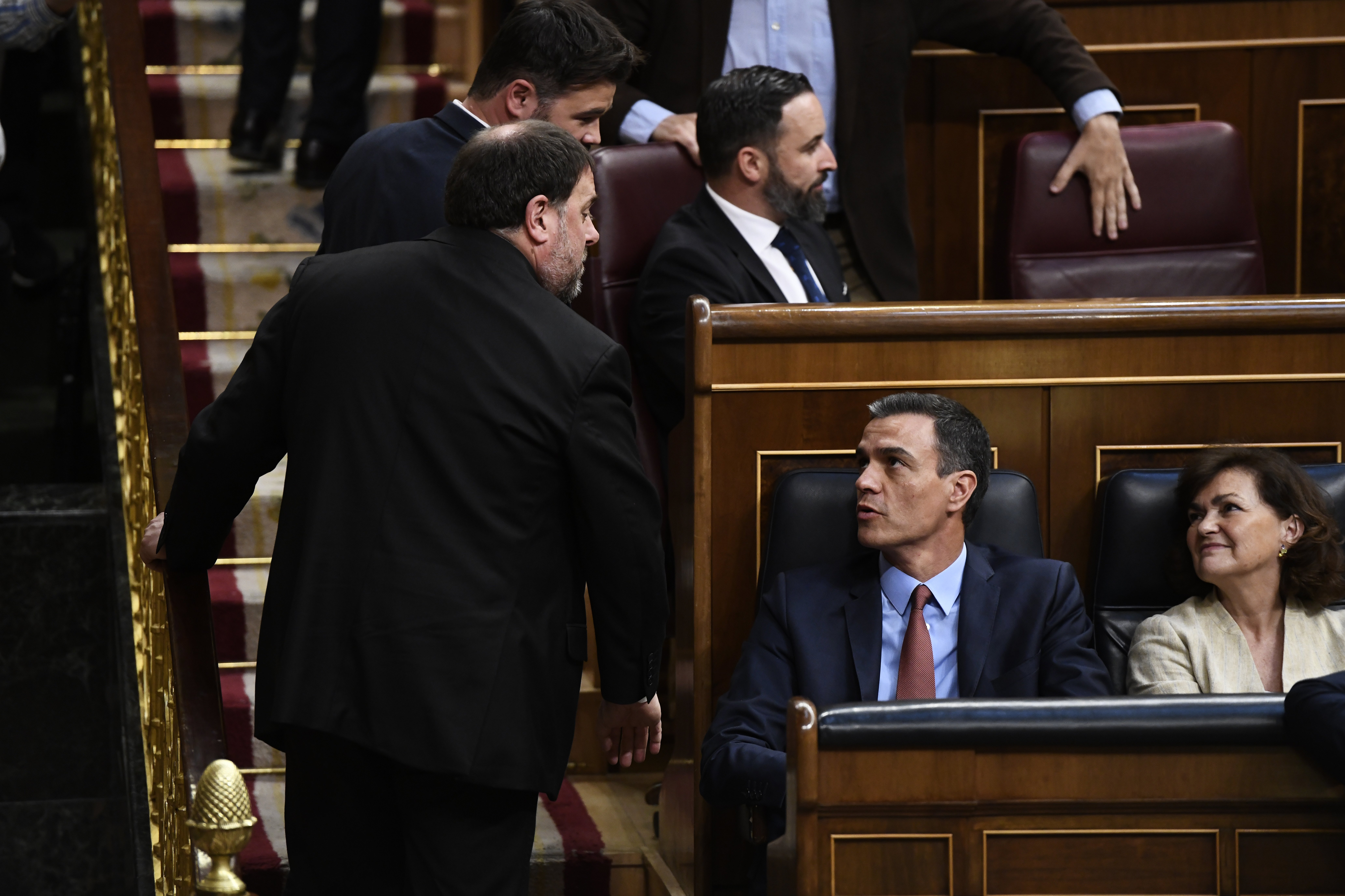 Cesiones frente a presiones. el Gobierno Sánchez transige ante el independentismo catalán