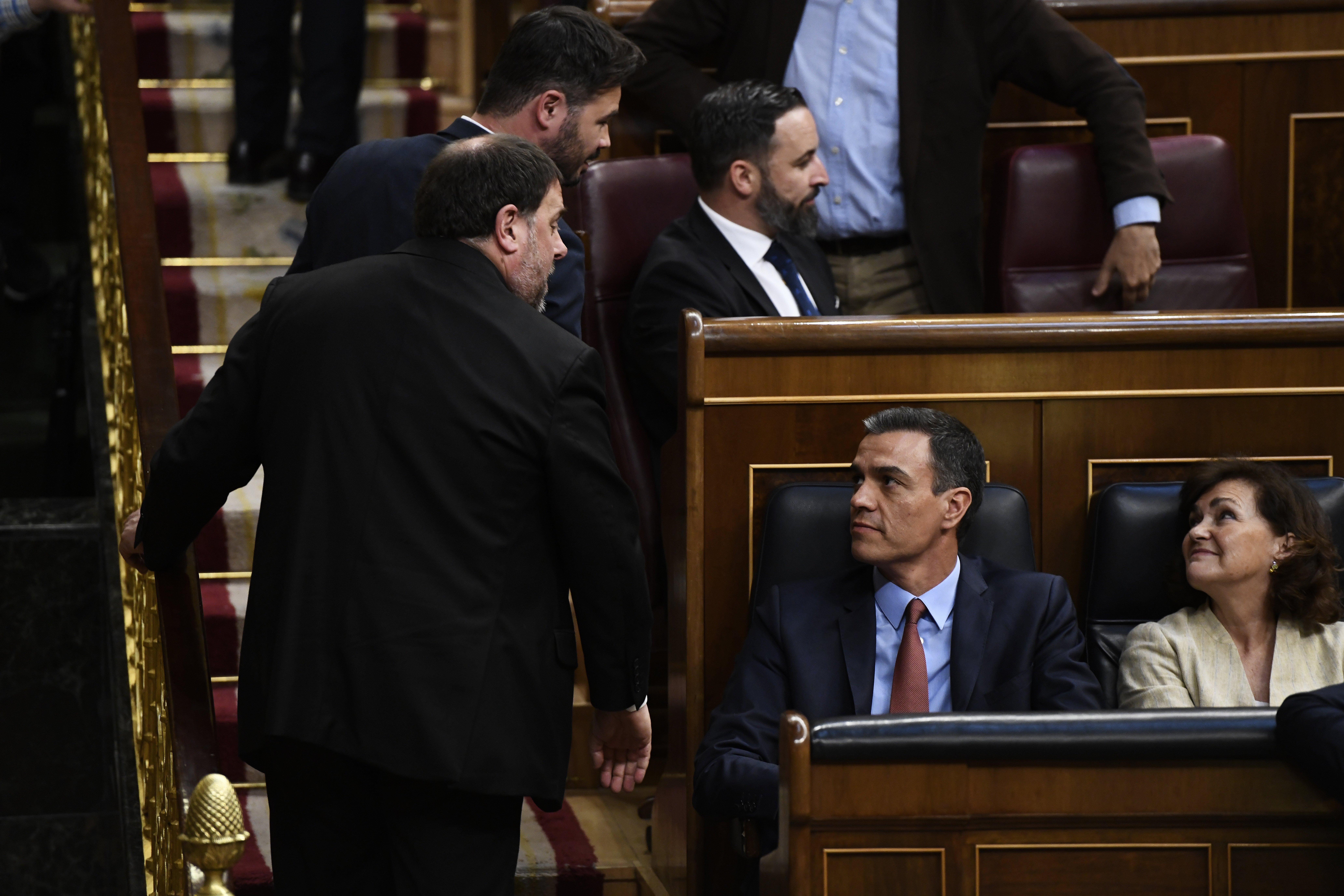 """Sánchez y Junqueras... (""""tenemos que hablar"""")"""