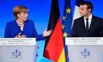 Merkel se mantiene como la más votada, mientras Macron se desploma