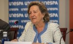 Pilar González de Frutos no desfallece e insiste en la necesidad de llegar a un acuerdo sobre las pensiones