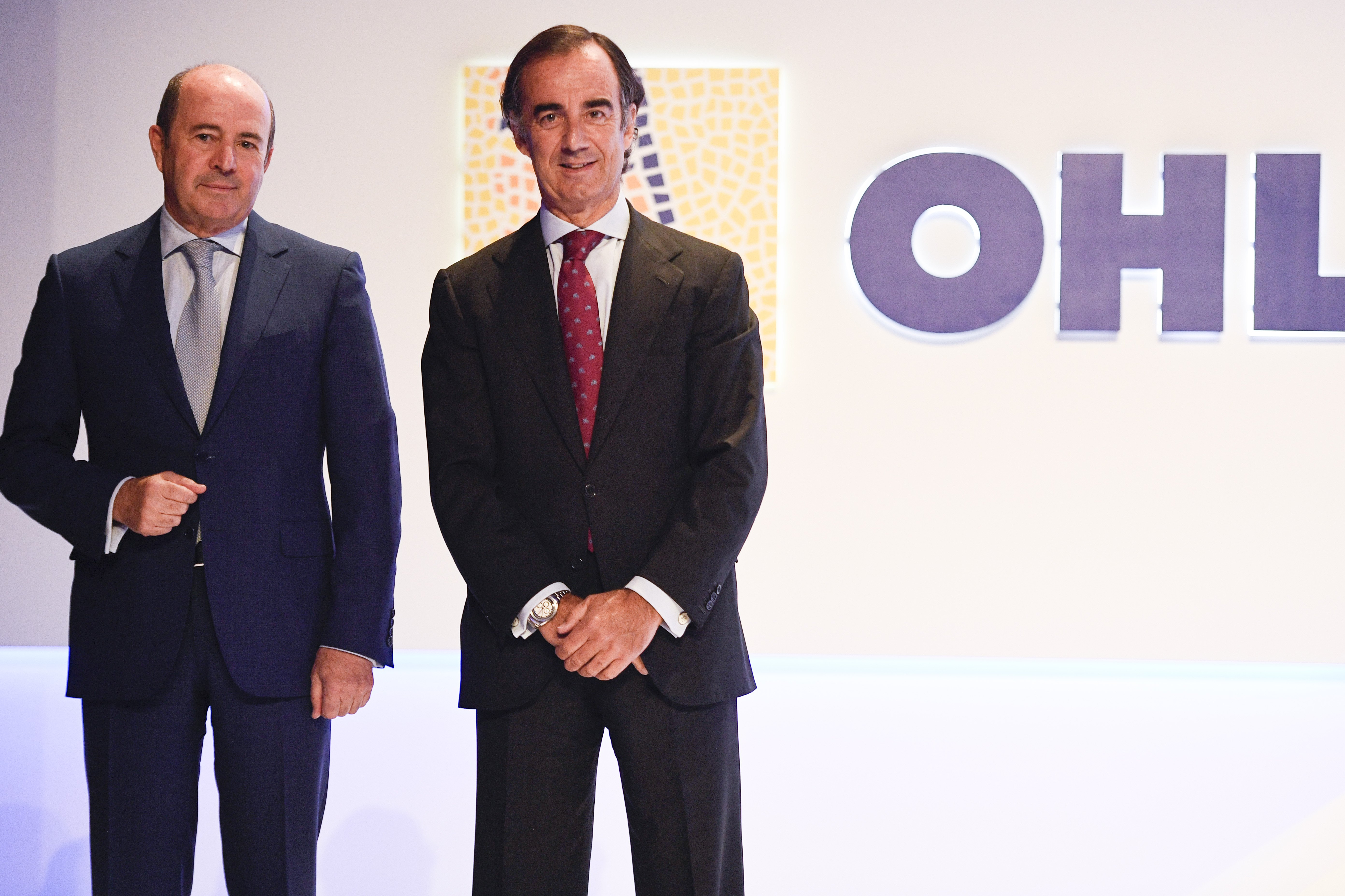 Jose Antonio Fernández Gallar y Juan Villar-Mir de Fuentes aseguran que 2019 será un año de transición para OHL