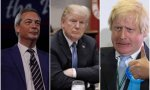 Farage, Trump y Jhonson
