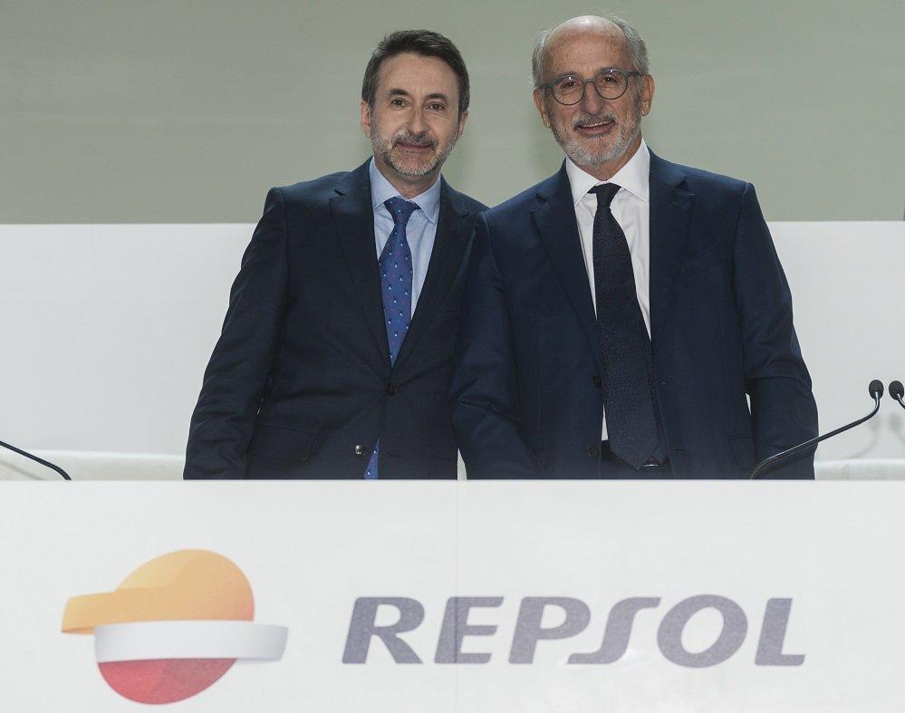 Josu Jon Imaz y Antonio Brufau, CEO y presidente de la compañía multienergía, han sido reelegidos por los accionistas para otros cuatro años