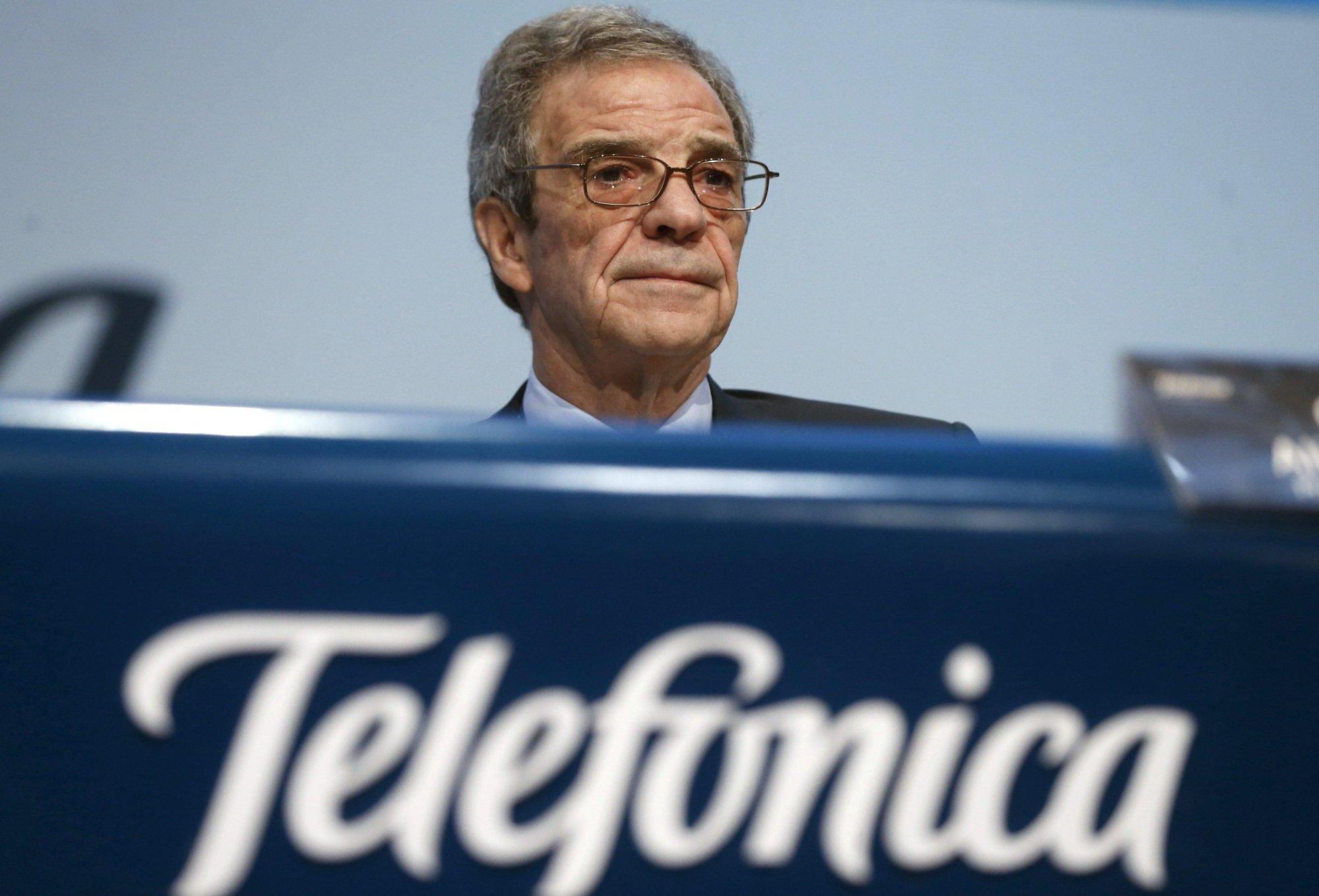 César Alierta: Telefónica no se va a fusionar con nadie