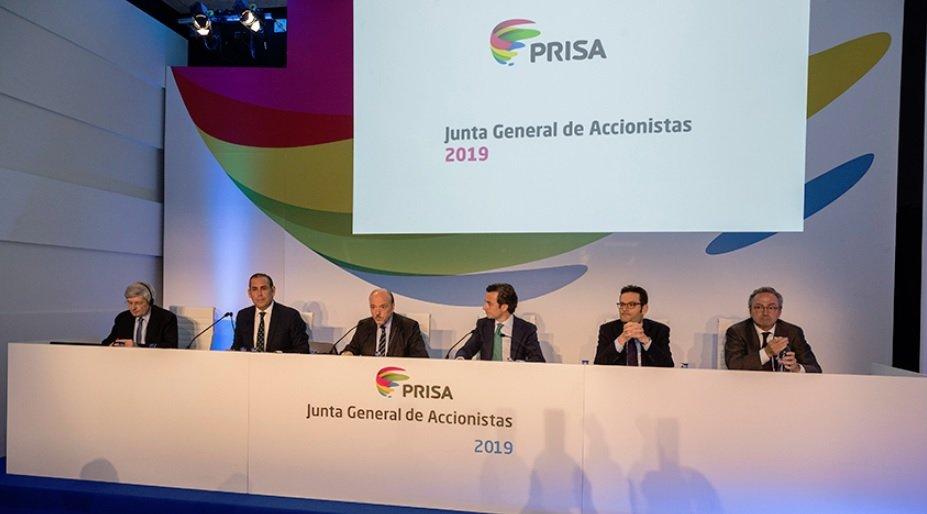 La Junta de PRISA ha sido pacífica, sin intervenciones de accionistas y con el visto bueno a todos los acuerdos