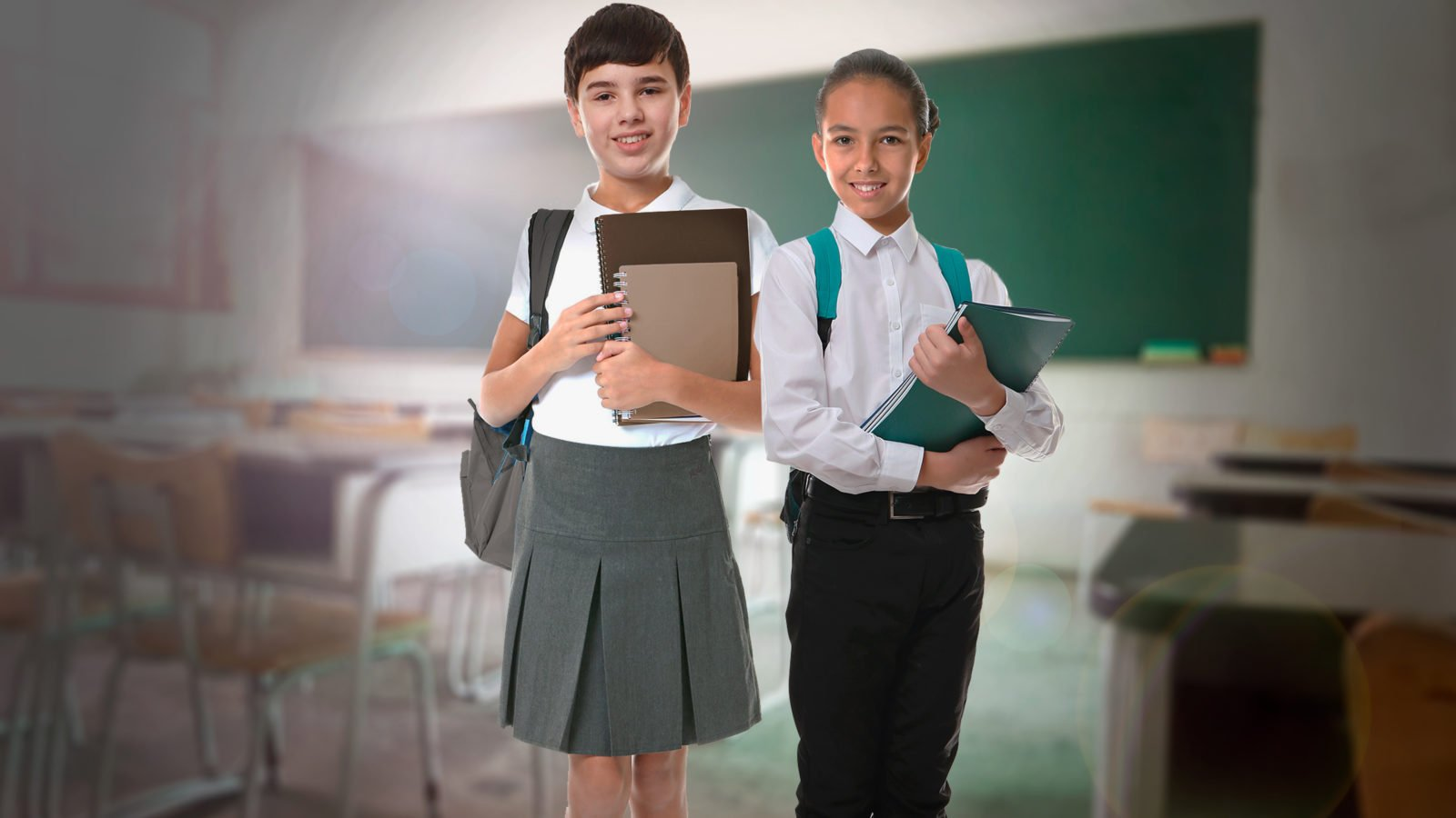 Uniforme escolar neutro