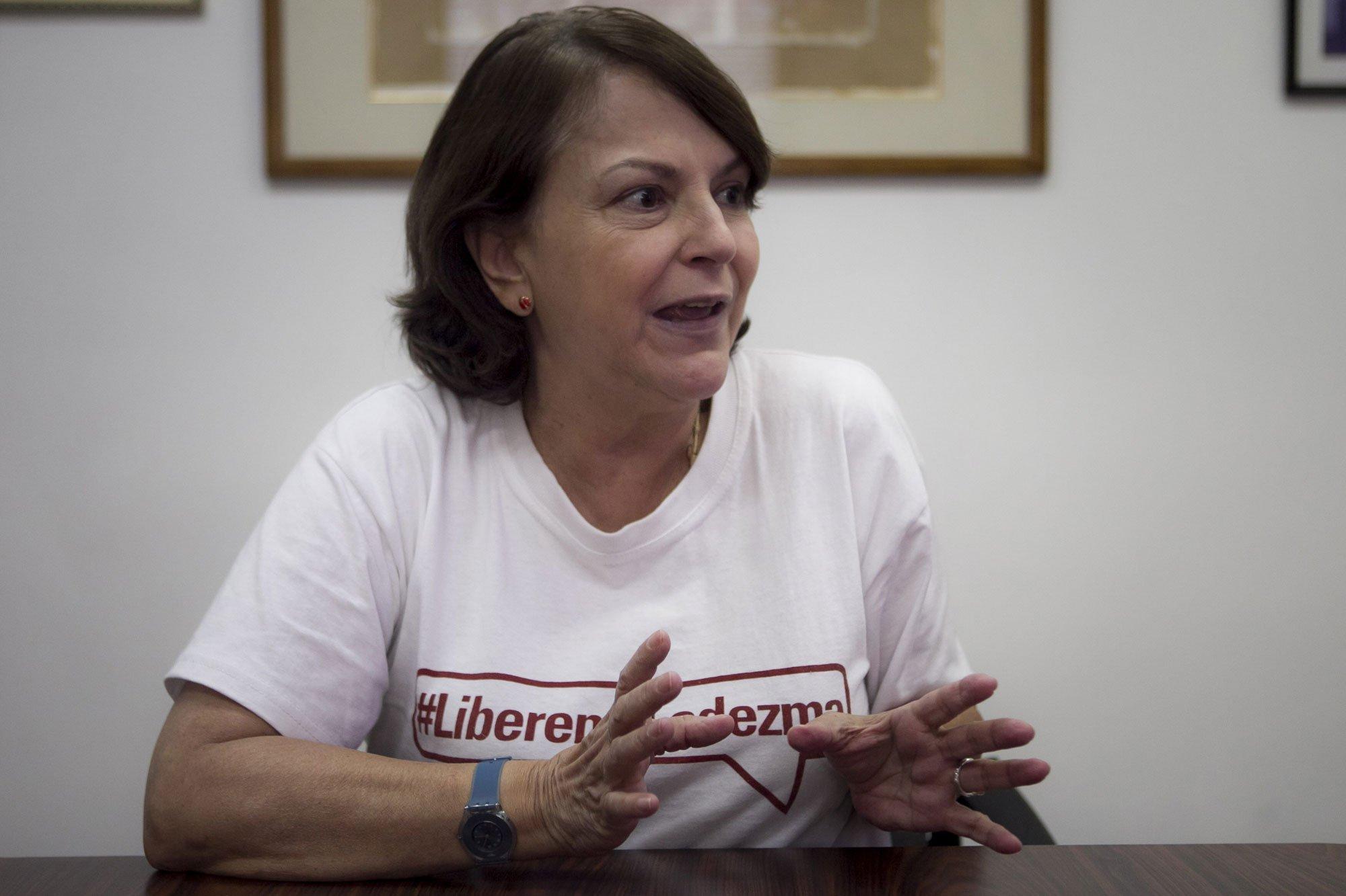 """Venezuela. Mitzy Capriles, esposa del detenido Antonio Ledezma: """"Maduro tiene pánico a la oposición"""""""