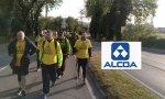 13 miembros del comité de empresa de Avilés y voluntarios inician 'La marcha del aluminio'