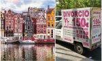 Amsterdam y la  divorcioneta