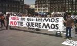 México. Miles de manifestantes acorralan a Peña Nieto el día de la fiesta nacional