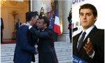 Macron, Sánchez y Rivera