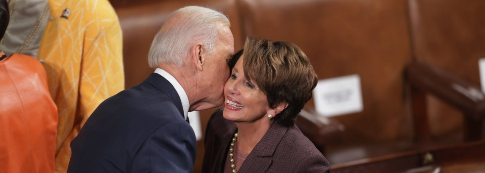 Joe Biden y Nancy Pelosi, católicos raritos contra Trump
