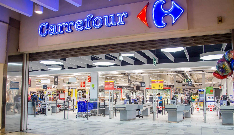 Carrefour mejora ingresos en nuestro país, pero mantiene planas sus ventas en tienda