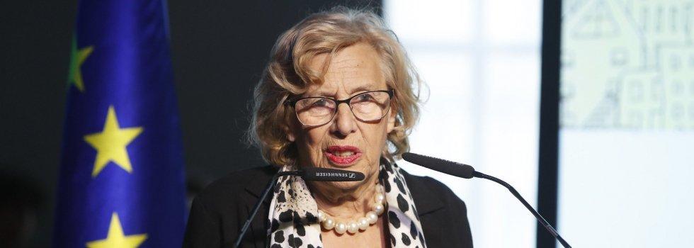 Manuela Carmena ha renunciado a su acta como concejal