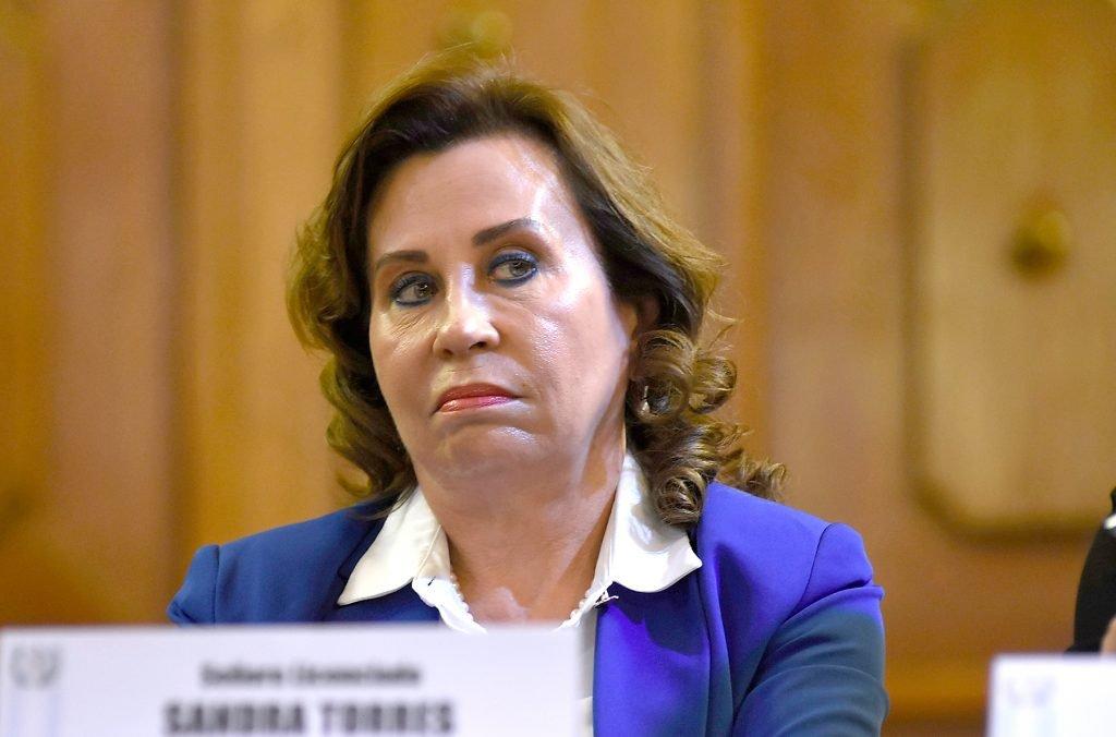 Sandra Torres ingresa en prisión