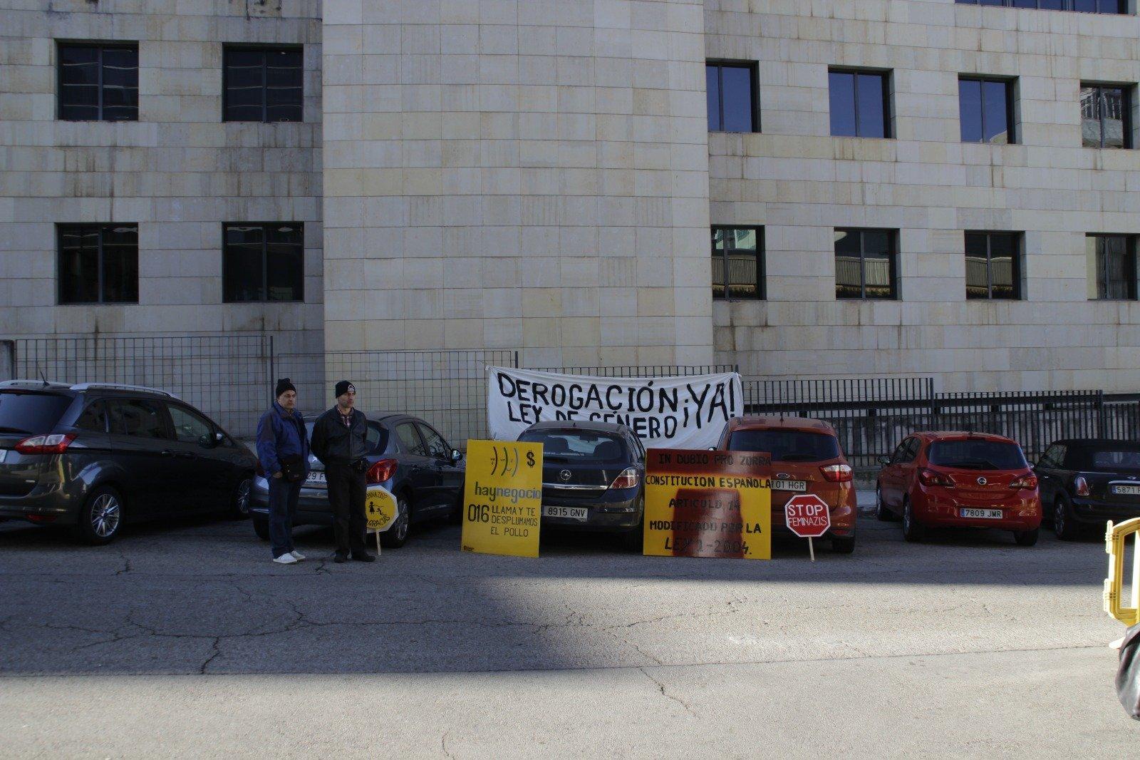 Pancartas de 'Projusticia'