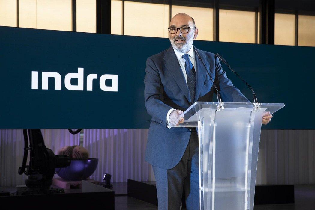 Fernando Abril-Martorell preside Indra desde enero de 2015