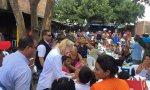 Venezolanos huyendo de la dictadura de Maduro
