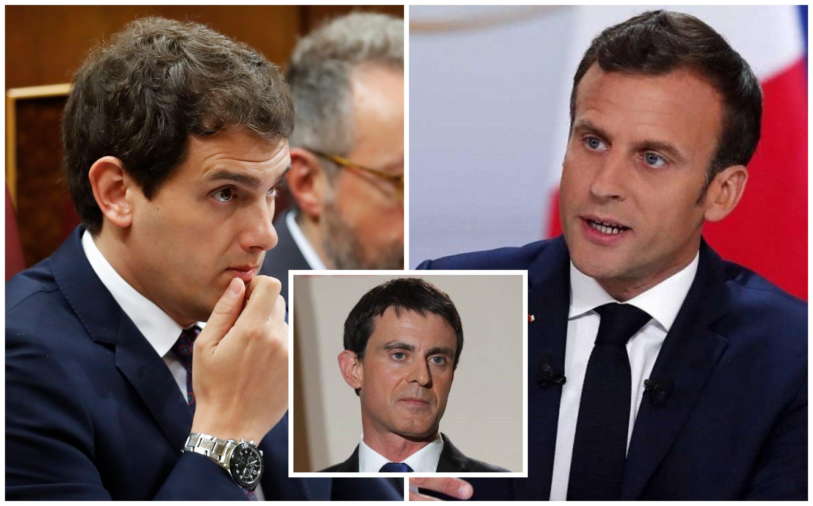 Albert Rivera cede ante las exigencias de Emmanuel Macron