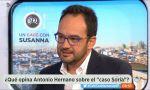 """Antonio Hernando (PSOE): """"Todo el mundo sabe que no nos vamos a abstener ni estamos por la labor de una gran coalición"""""""