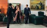 Michel Bachelet está en Venezuela