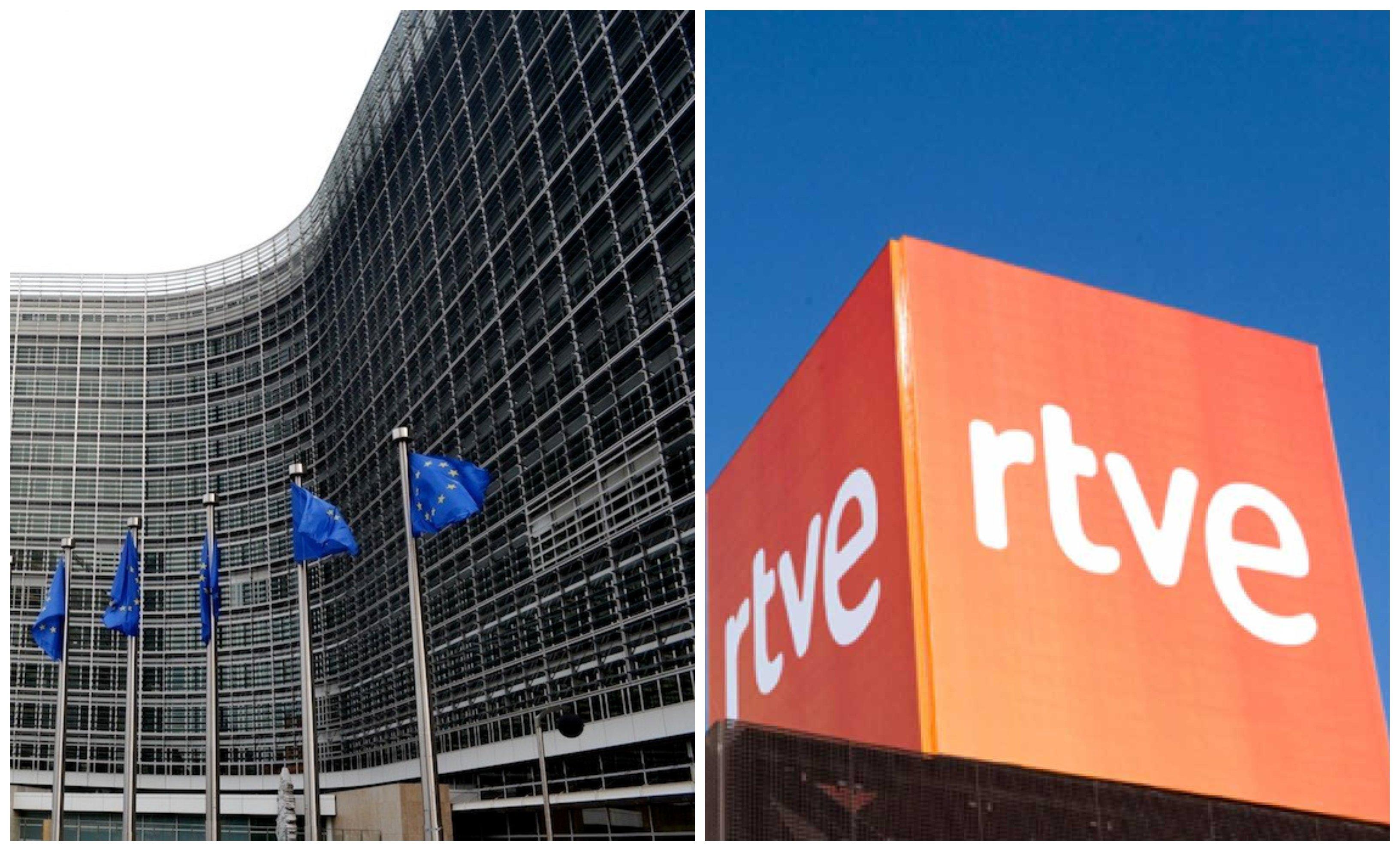 La Comisión Europea y RTVE