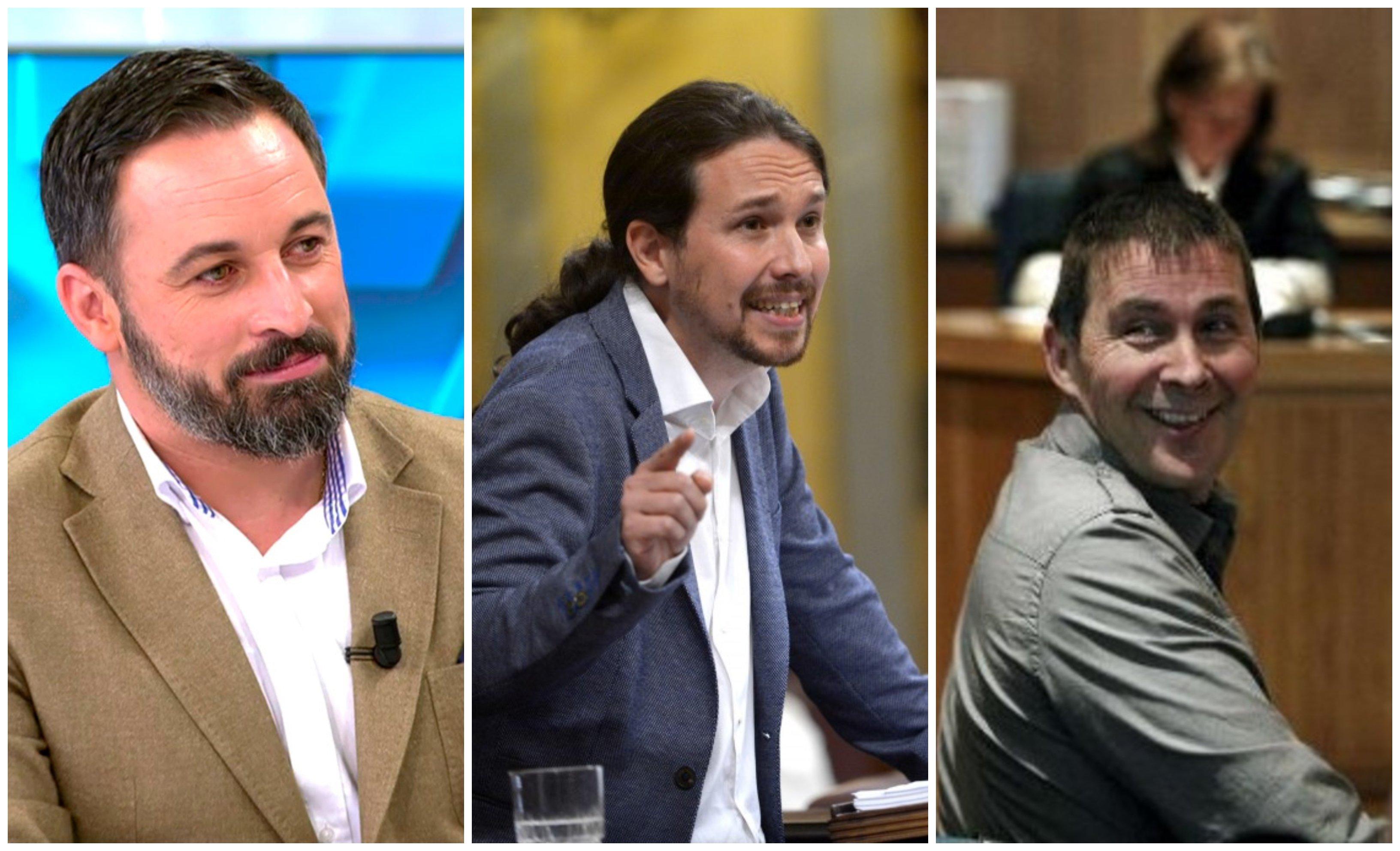 Abascal, Iglesias y Otegui