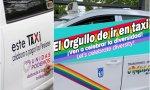 Taxis con publicidad de Podemos y el Orgullo (1)