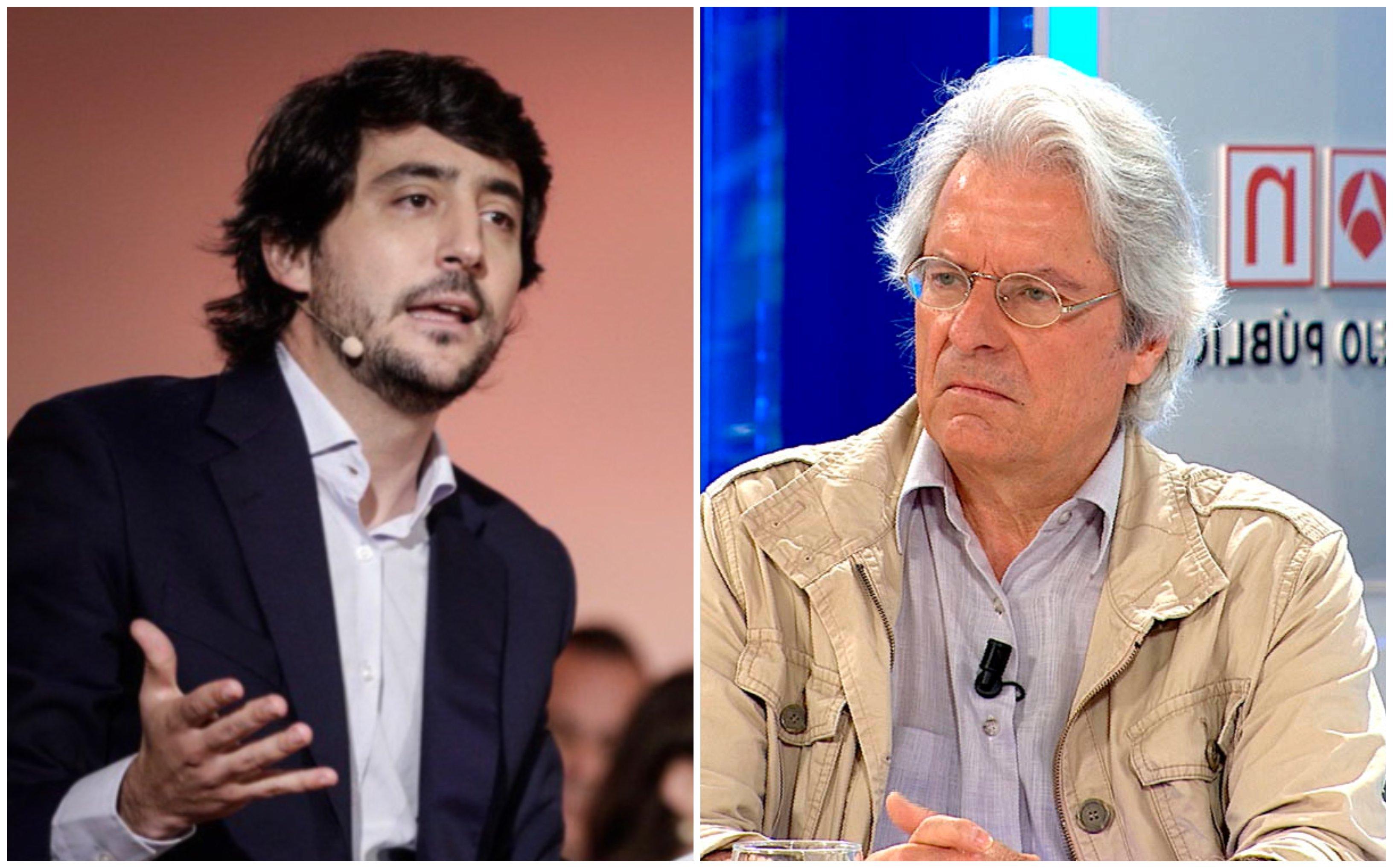 Toni Roldán (izquierda) y Javier Nart (derecha) rompen con Ciudadanos