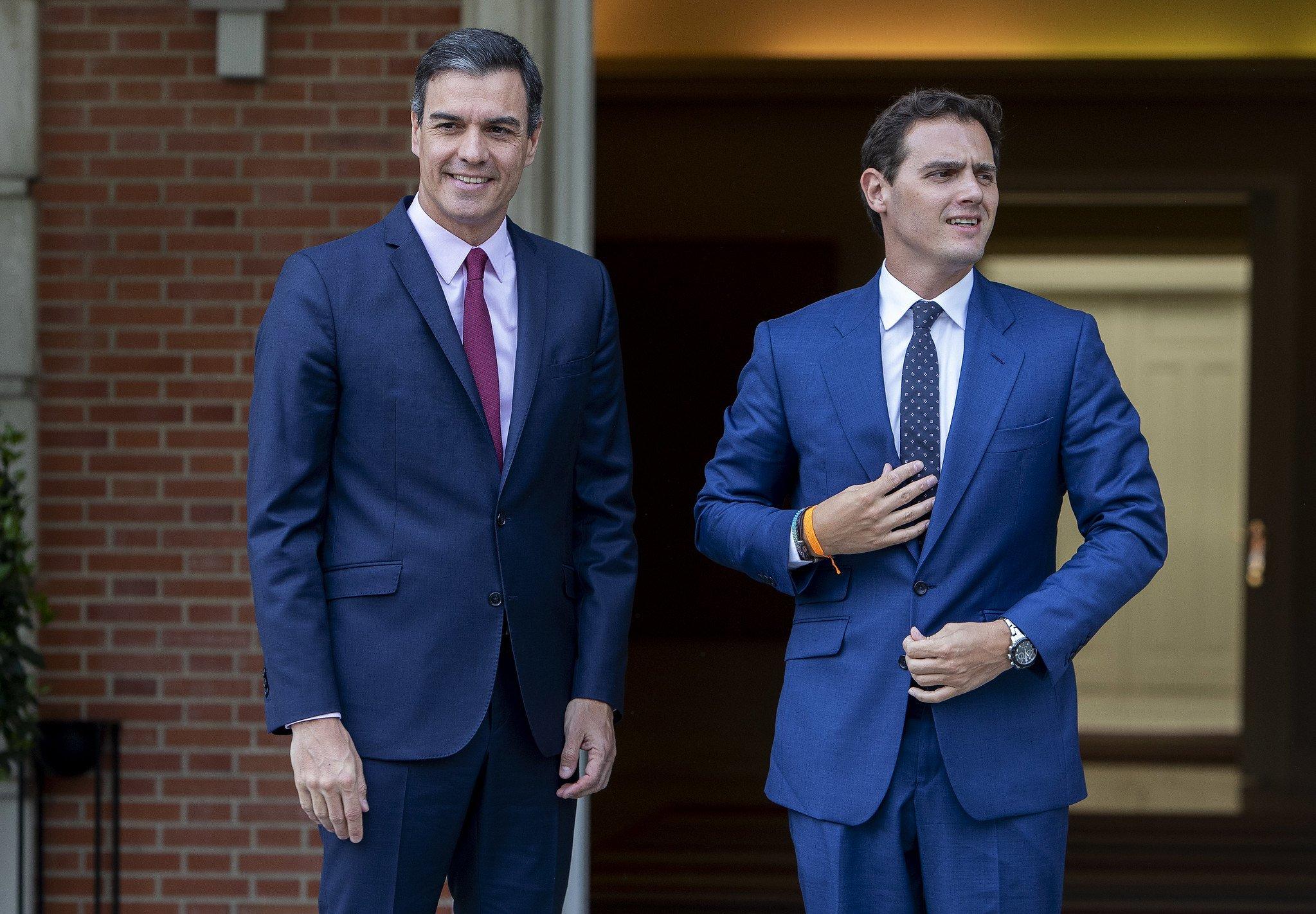 Sánchez y Rivera, dos caras de la misma moneda progre