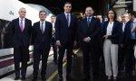 Sánchez inaugura el AVE Madrid-Granada, un viaje de entre tres y tres horas y media, pero vuelve en su avión preferido