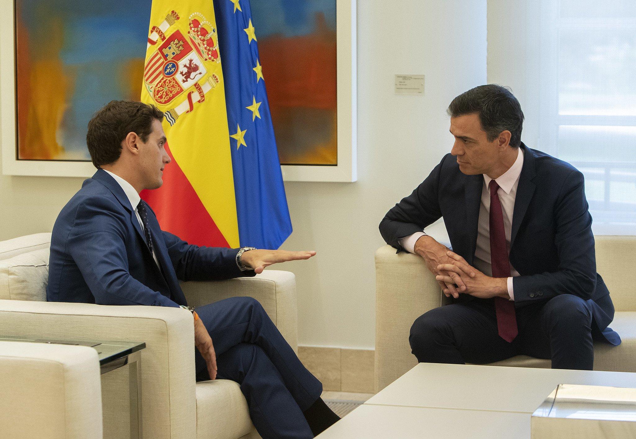 Todo preparado para que Ciudadanos permita la investidura de Pedro Sánchez