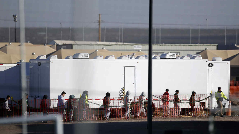 Menores migrantes en EEUU