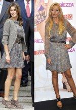 Los looks de la Reina Letizia y 'la princesa del pueblo' han coincidido en alguna ocasión