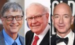 Gates Buffet y Bezos son algunos de los filántropos que aparecen en el libro 'Filantropía y Progreso'