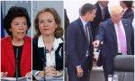 Las ministras Celaá y Calviño ensalzan a Pedro Sánchez mientras Donald Trump le humilla