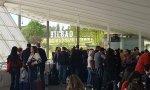Cifras de la anterior huelga en el aeropuerto de Bilbao: 169 trabajadores dejaron en tierra a más de 2.000 pasajeros