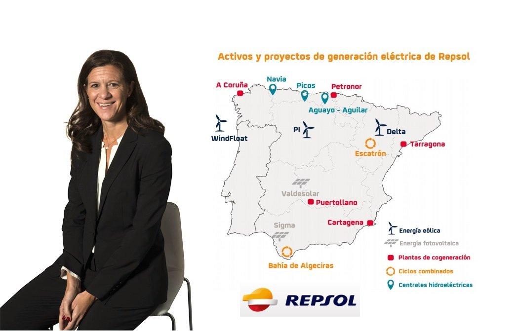 María Victoria Zingoni, presidenta de Repsol Electricidad y Gas, directora general de Negocios Comerciales y Química, y miembro del Comité Ejecutivo de Repsol