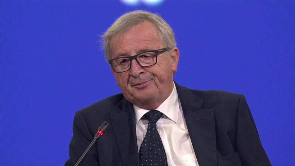 """Jean-Claude Juncker: """"Con la cifra de paro de España, no podemos dar la crisis por acabada"""""""