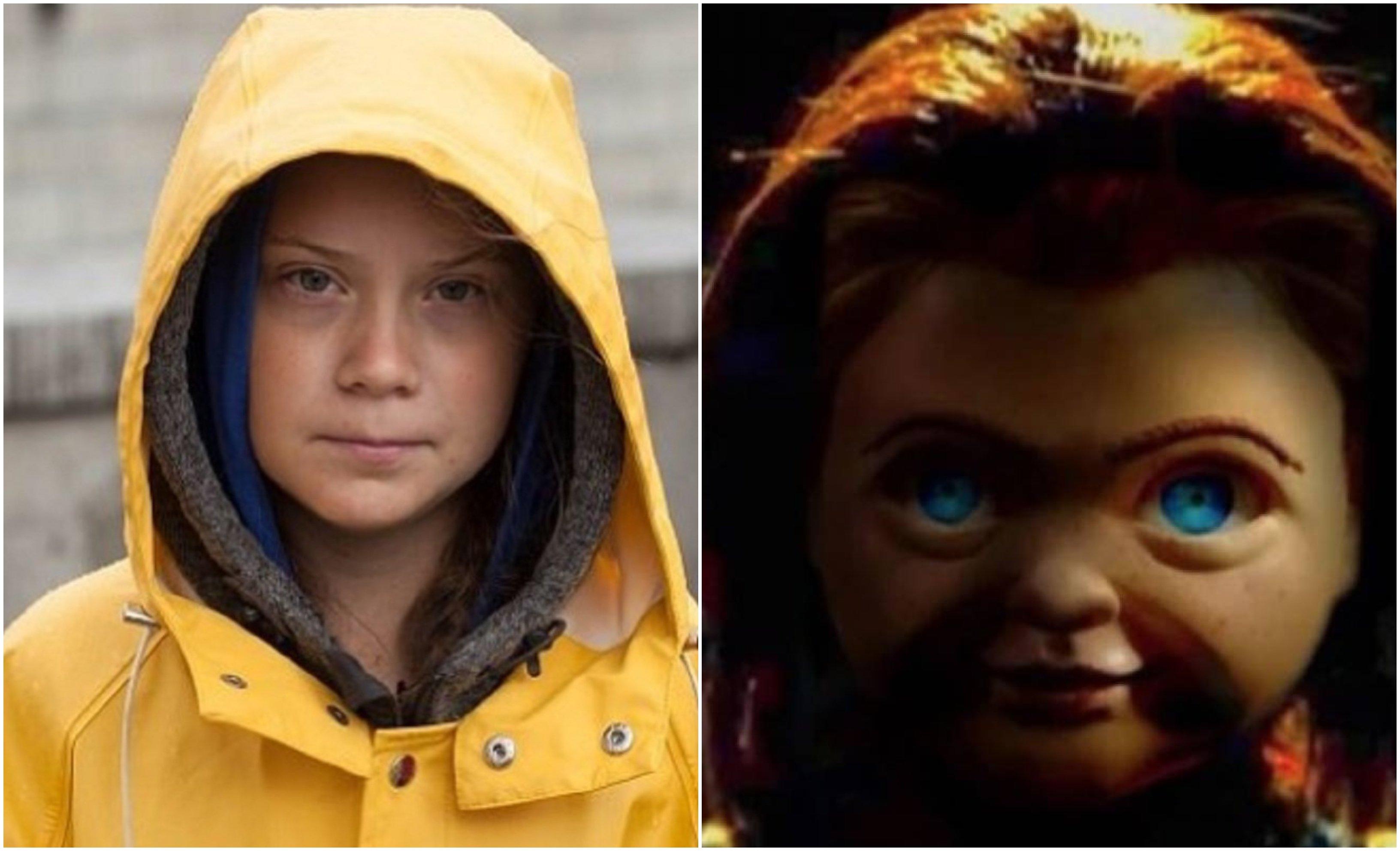 Greta y Chucky