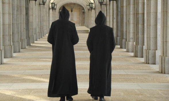 Resultado de imagen de dos benedictinos