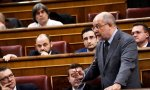 El entonces portavoz de Sanidad de Cs, Francisco Igea, durante la aprobación en el Congreso de la proposición de Ley de Ciudadanos sobre Muerte Digna