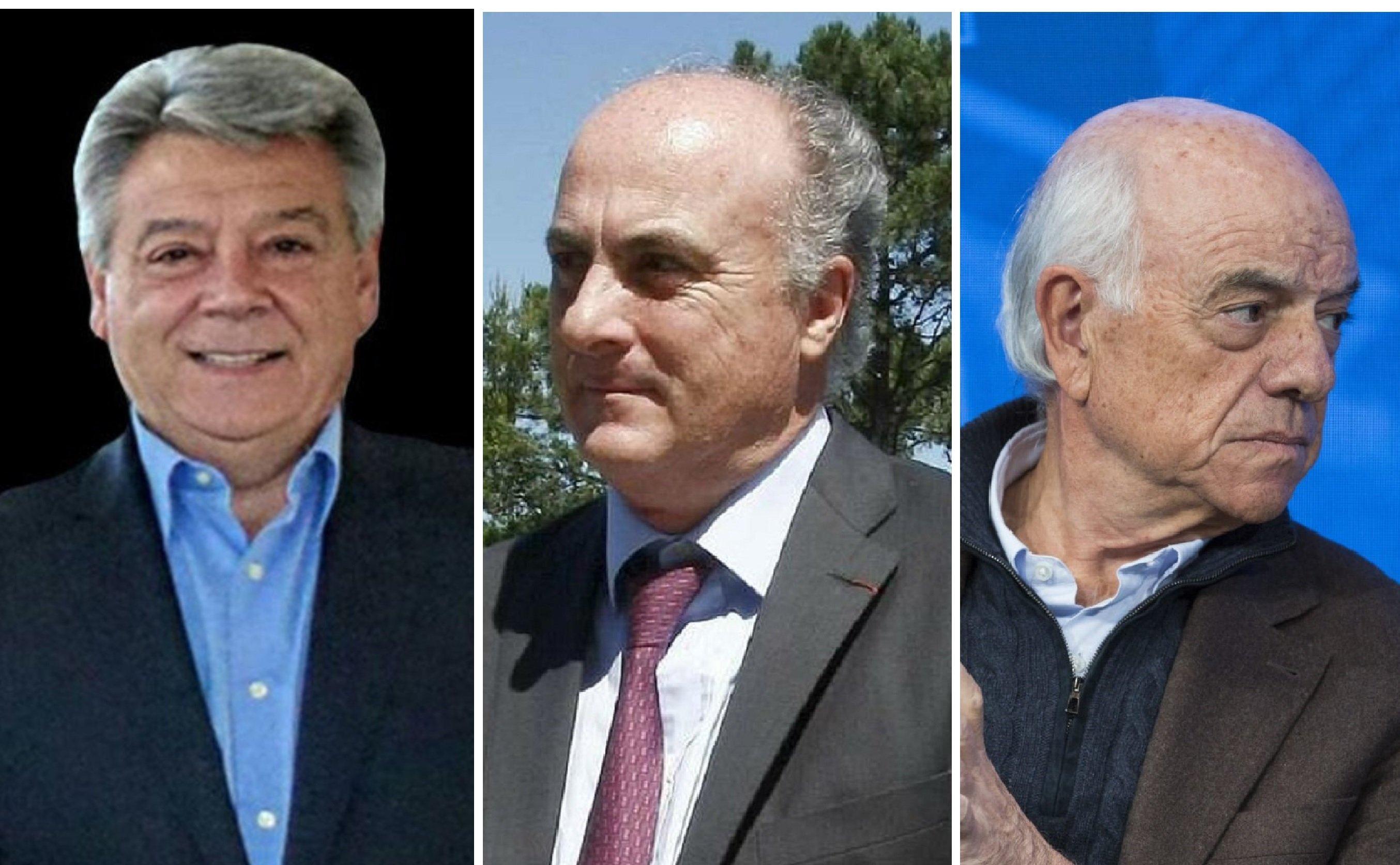 Julio Corrochano, el juez Manuel García Castellón y Francisco González (FG)
