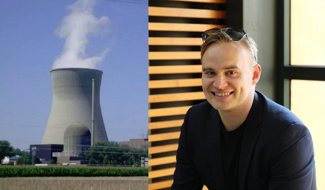 Atte Harjanne, miembro del Grupo Verde de Finlandia, afirma que no es el único 'verde' que apoya la nuclear como parte de la solución en la descarbonización